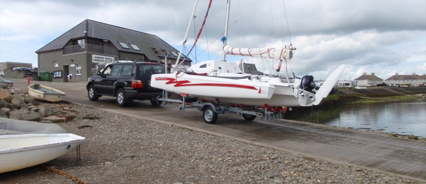 Trimarans 16 20 22 24 ft day boats to racing cruisers