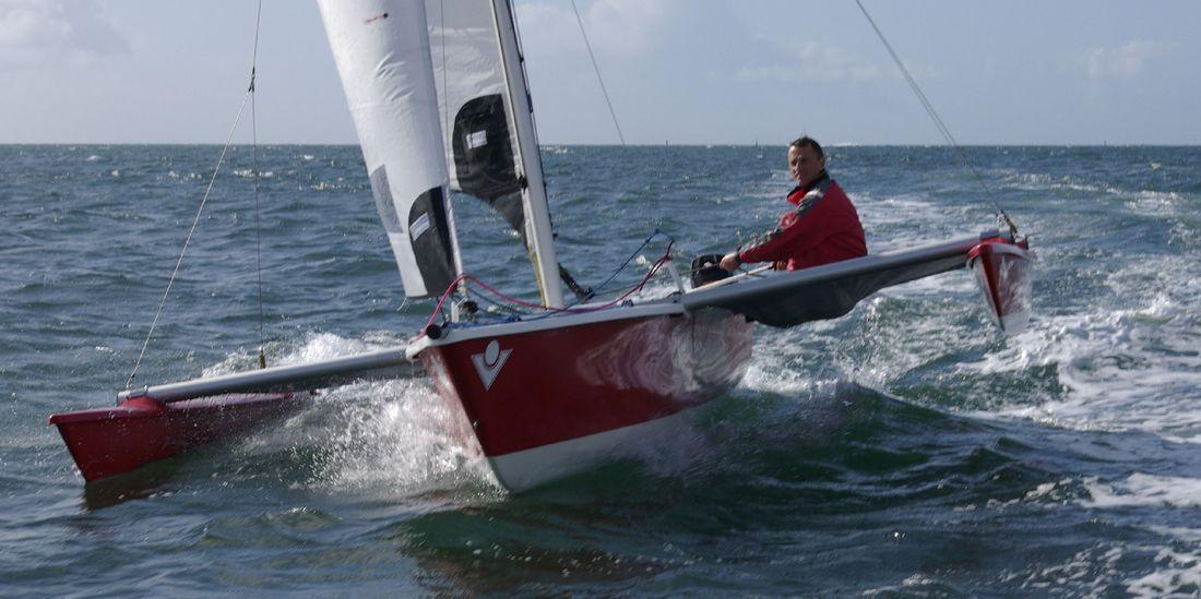 Nerlana: 18 ft catamaran power boat